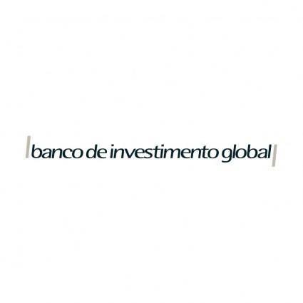 Banco de investimento global 0