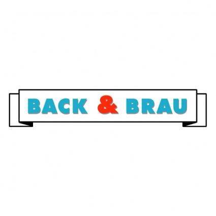 free vector Back brau