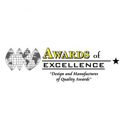 free vector Awards of excellence