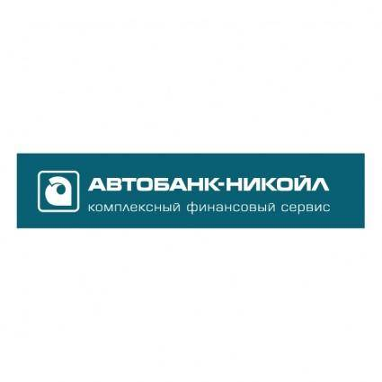 free vector Autobank nikoil 0