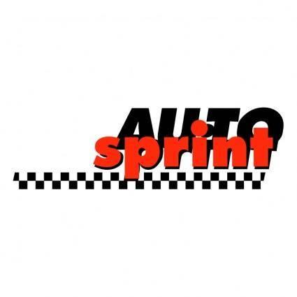 free vector Auto sprint