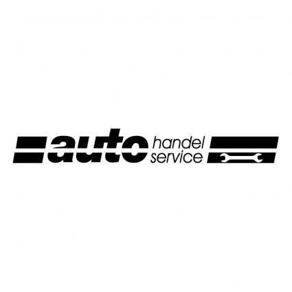 free vector Auto handel service