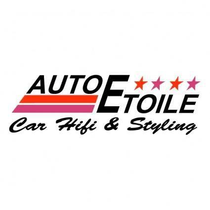 free vector Auto etoile