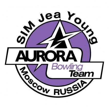 free vector Aurora bowling team