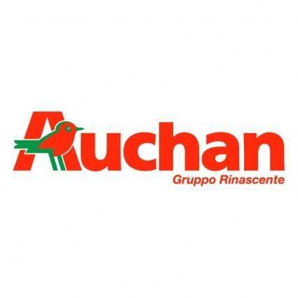 free vector Auchan gruppo rinascente