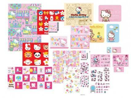 free vector Hello kitty vector