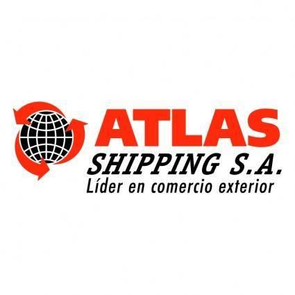 free vector Atlas shipping