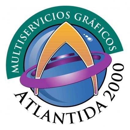 free vector Atlantida 2000