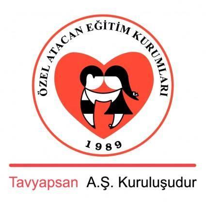 free vector Atacan egitim kurumlari