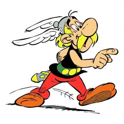free vector Asterix 1