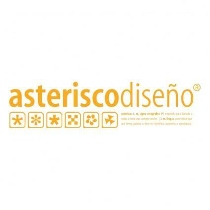 Asterisco design