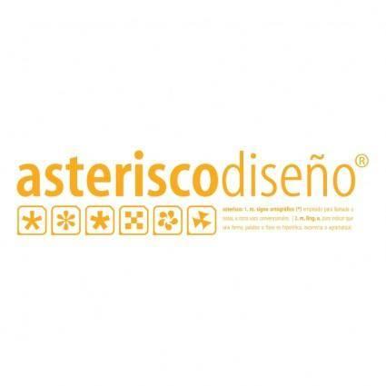 free vector Asterisco design