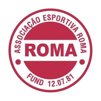 free vector Associacao esportiva roma de porto alegre rs