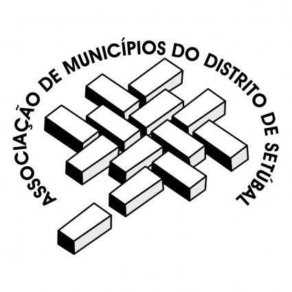 free vector Associacao de municipios do distrito de setubal