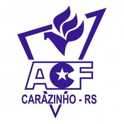 free vector Associacao carazinhense de futebol de carazinho rs
