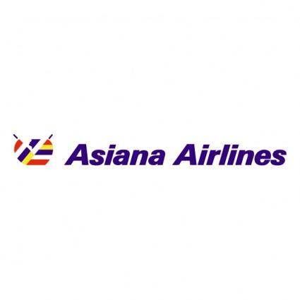 free vector Asiana airlines 1