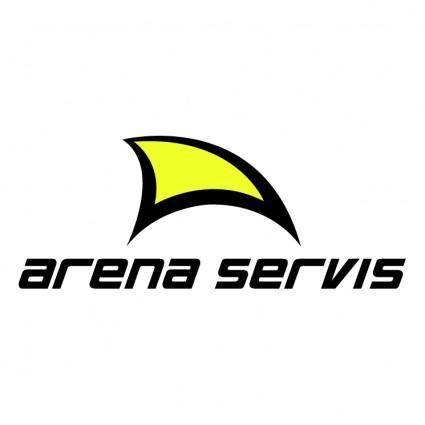free vector Arena servis