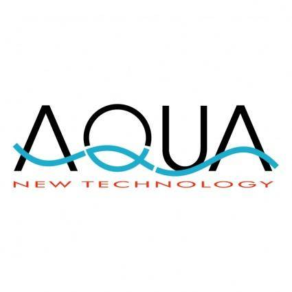 free vector Aqua new technology