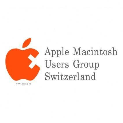 free vector Apple macintosh users group switzerland