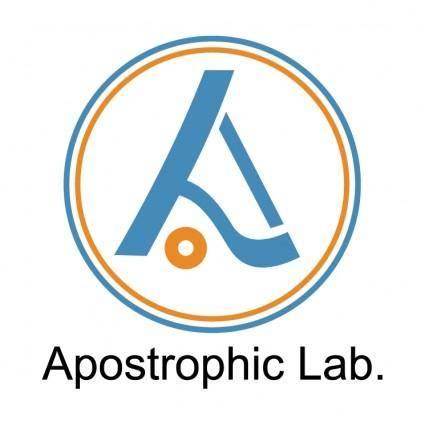 free vector Apostrophic lab