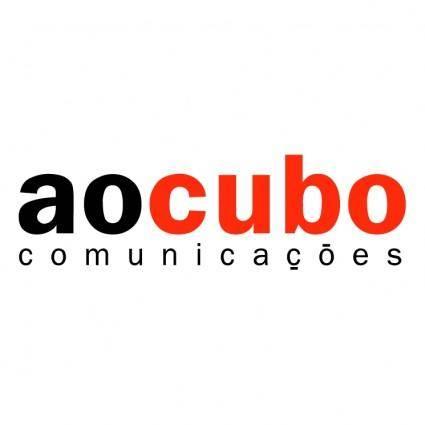 free vector Ao cubo comunicacoes