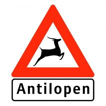 free vector Antilopen