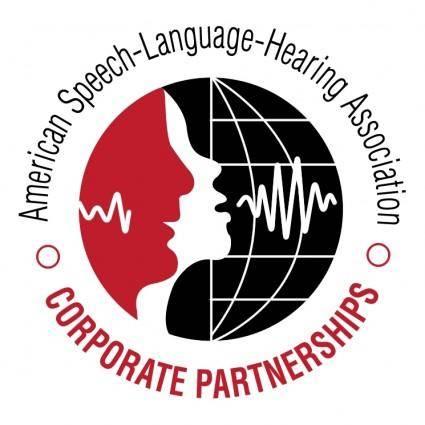 free vector American speech language hearing associacion