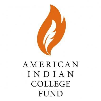 free vector American indian college fund 0
