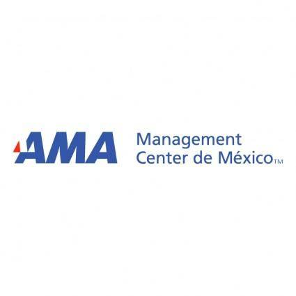 free vector Ama management center de mexico