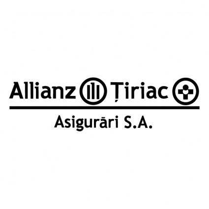 free vector Allianz tiriac