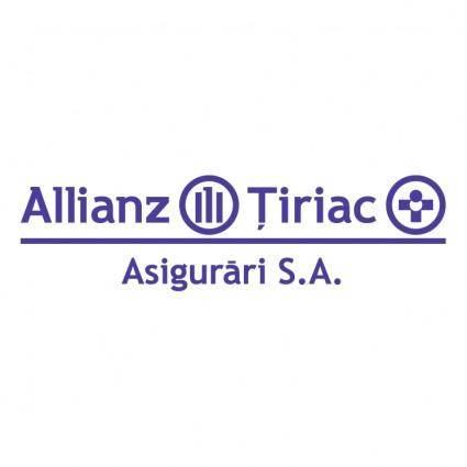 free vector Allianz tiriac 0
