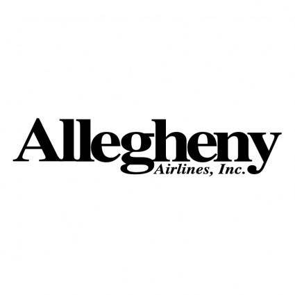 free vector Allegheny airlines