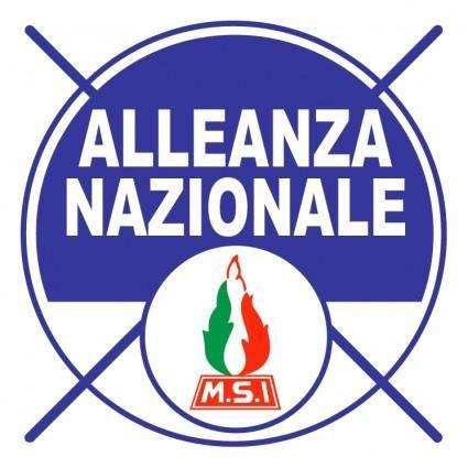 free vector Alleanza nazionale 0
