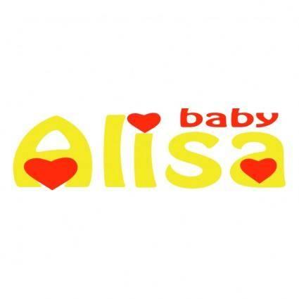 free vector Alisa baby