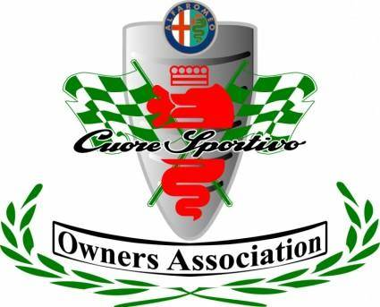 free vector Alfa romeo owners association