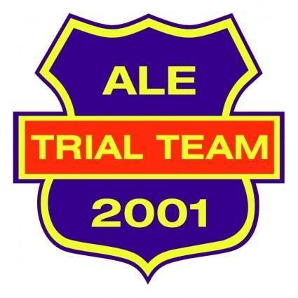 Ale trial team