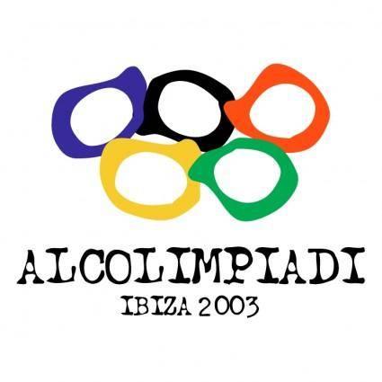 free vector Alcolimpiadi