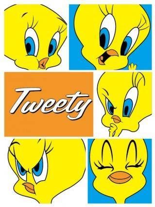 free vector Tweety vector