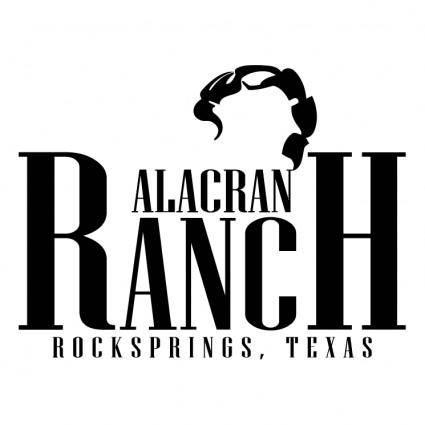free vector Alacran ranch