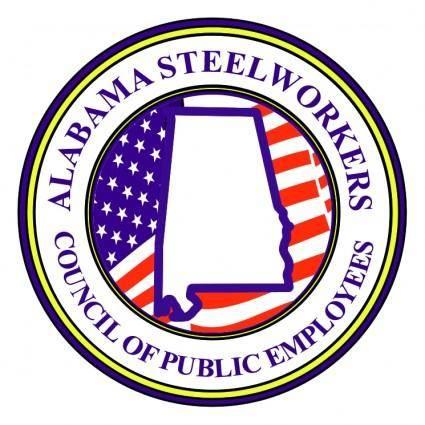 free vector Alabama steel workers