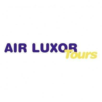 free vector Air luxor tours