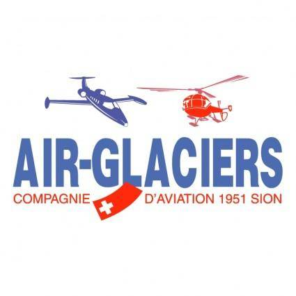 free vector Air glaciers