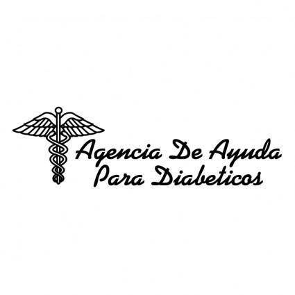 free vector Agencia de ayuda para diabeticos