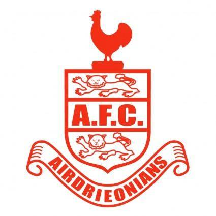 free vector Afc airdrieonians