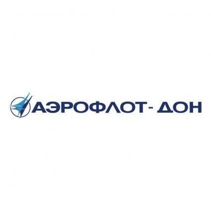 free vector Aeroflot don