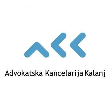 free vector Advokatska kancelarija kalanj