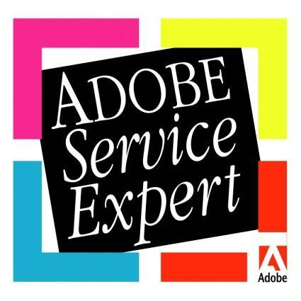 free vector Adobe service expert