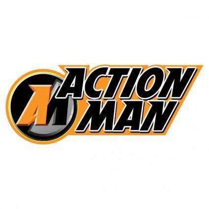 free vector Action man