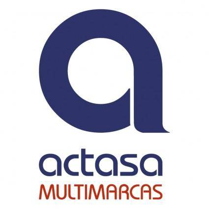 free vector Actasa multimarcas