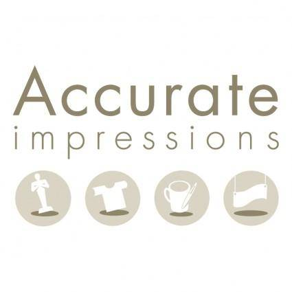 free vector Accurate impressions